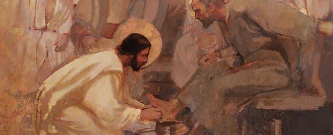 Pasqua-lavanda-piedi-Gesù